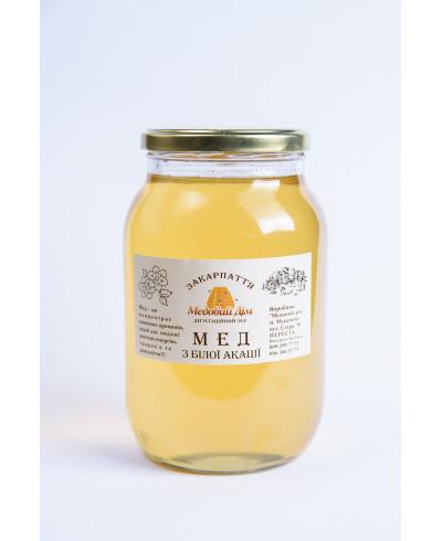 Мед з білої акації 0.2л.
