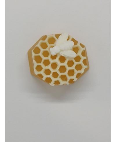 """Мило медово-прополісне """"бджілка на сотах""""  3D"""