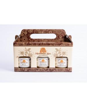 Подарунковий набір (мед і пилок)