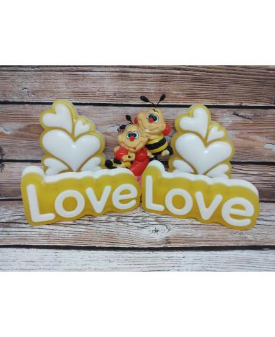"""Мило медово-прополісне """"Love"""", 100гр."""