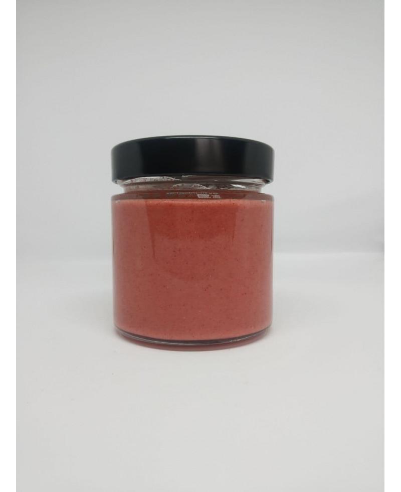 Крем мед з малиною, 250 гр.