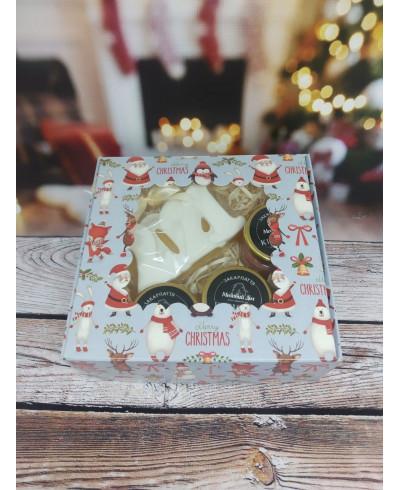 Набір новорічний з милом